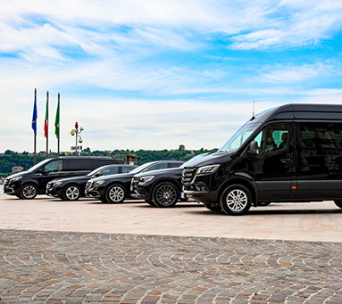 Chauffeured Vehicles Northern Italy